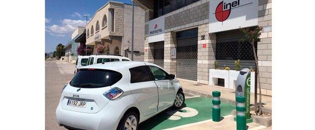 punto de recarga vehiculo electrico