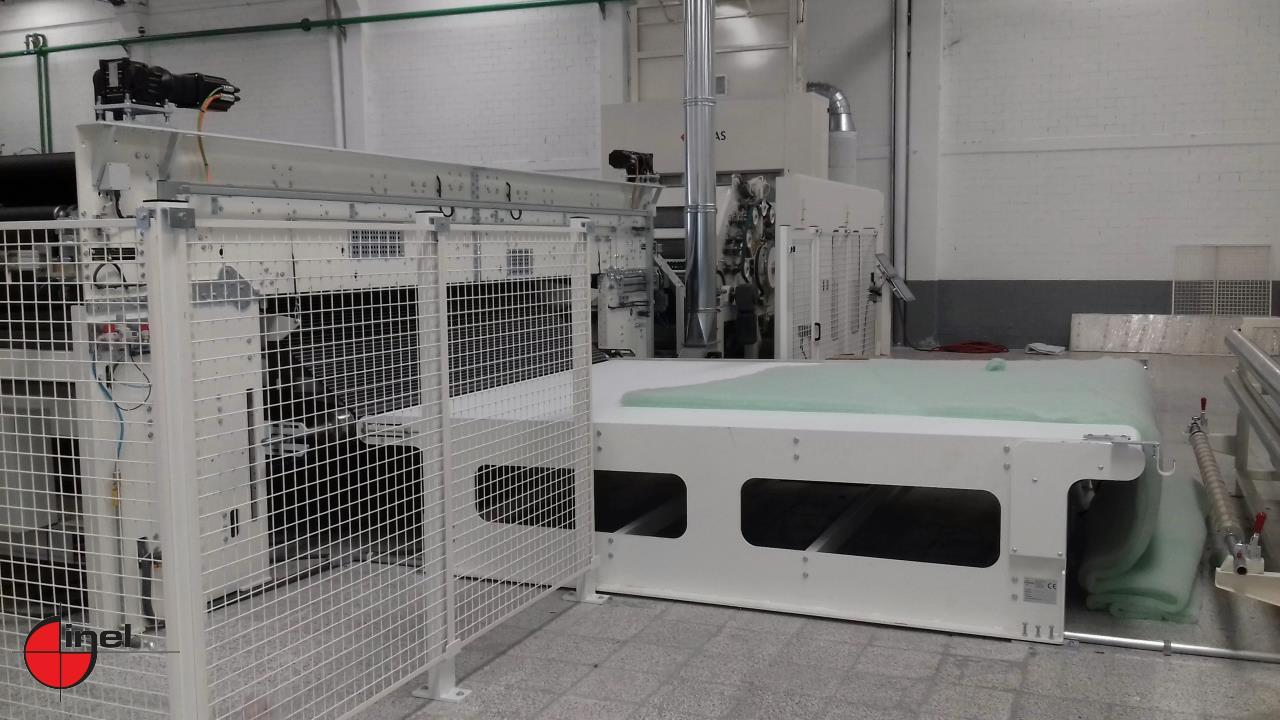 Automatización línea embolsado cojines Inel