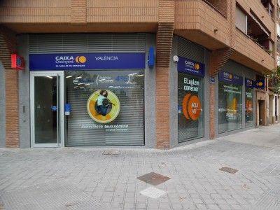 Fachada oficina Vicente Sancho Tello Caixa Ontinyent Valencia