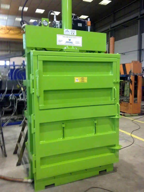 Automatización Inel - Prensa vertical hidráulica VP-20