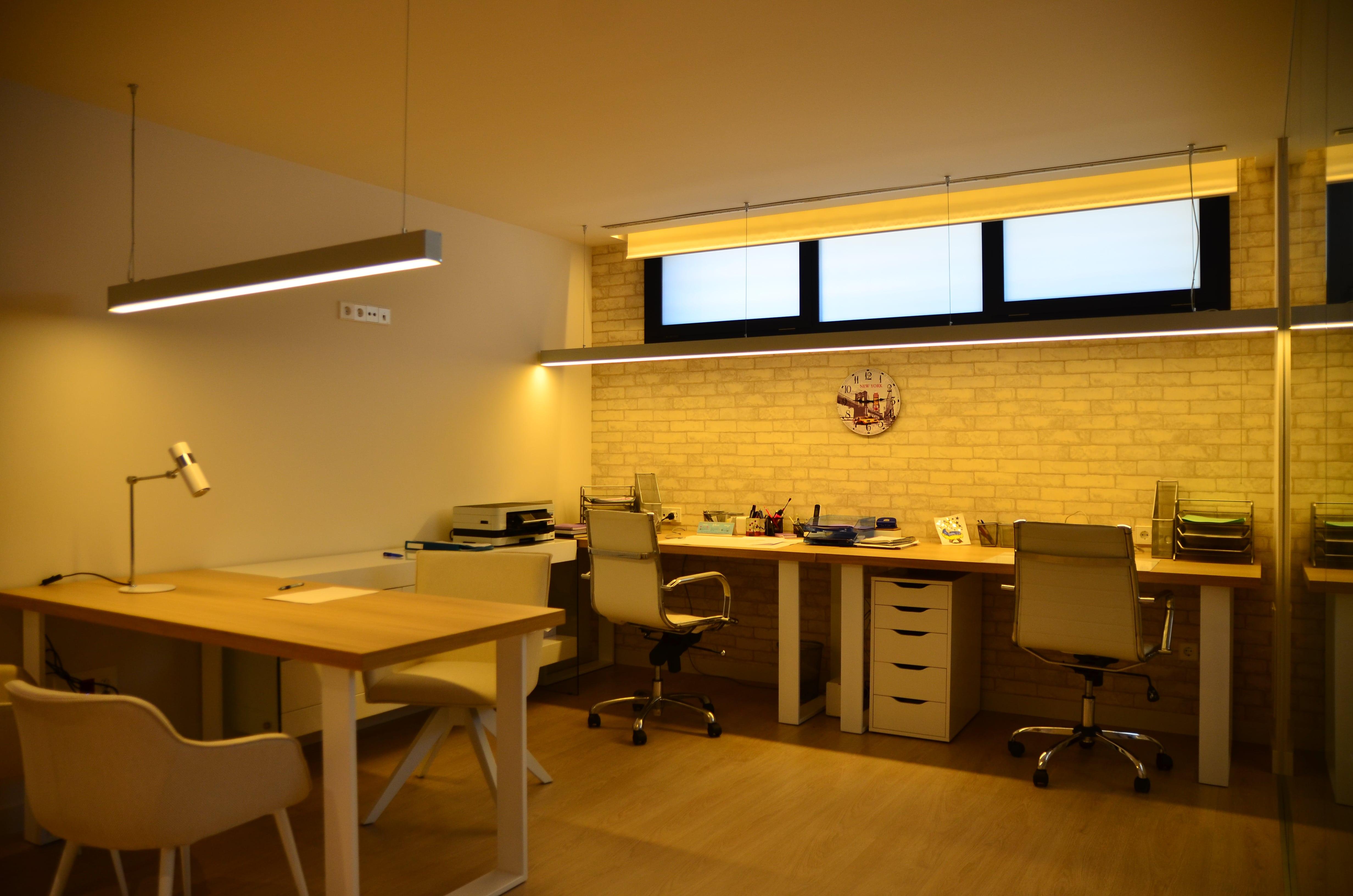 Iluminación despacho vivienda