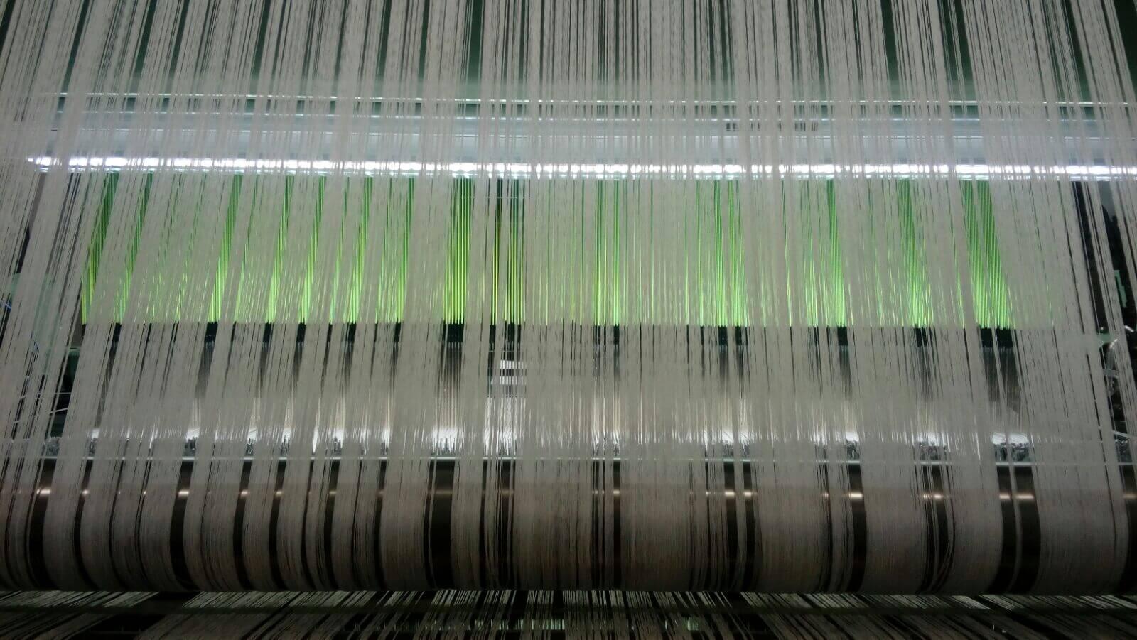 Instalación iluminacion telares