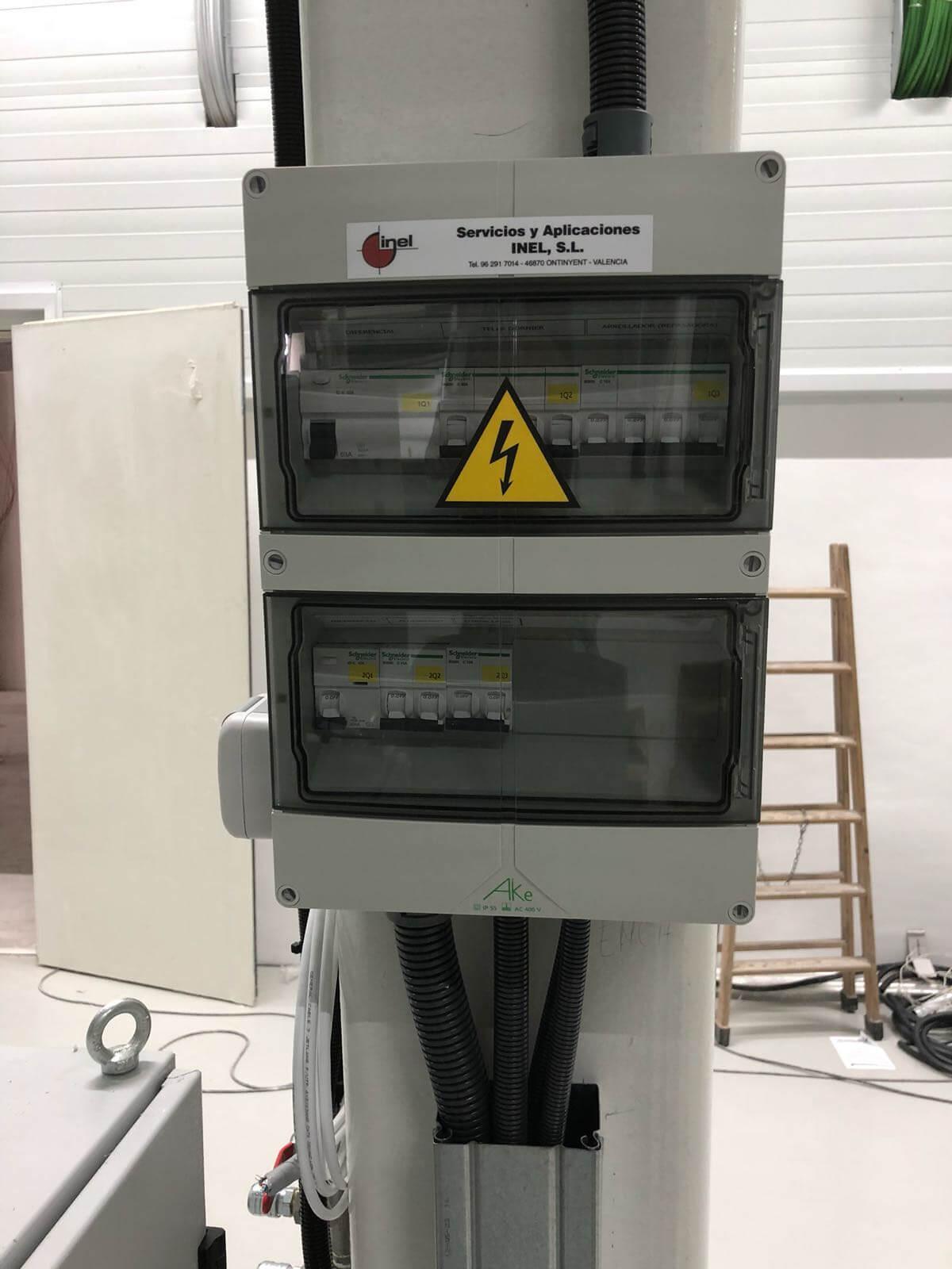 Instalacion Cuadros electricos Generales Inel