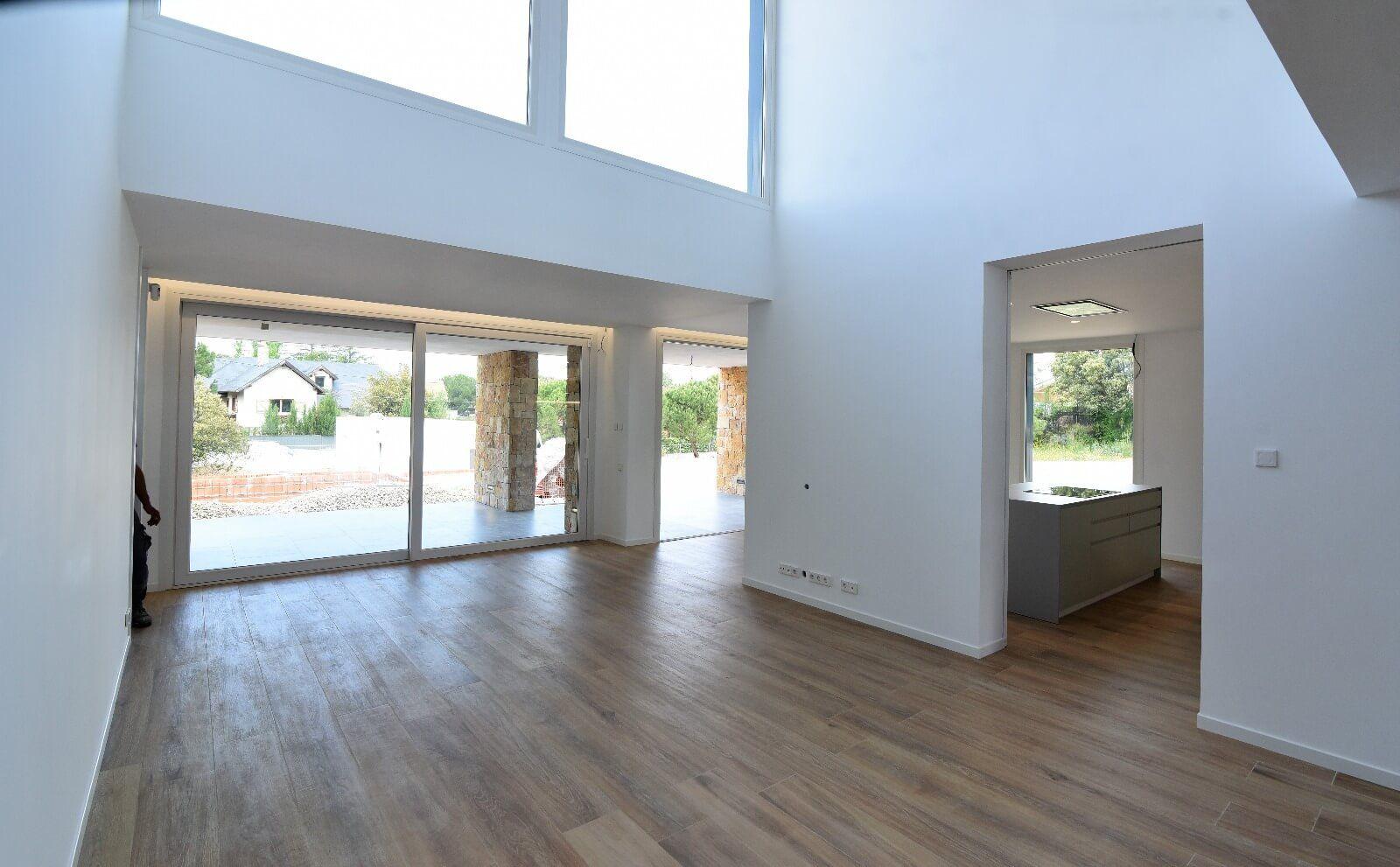 Domotica e iluminacion vivenda modular Ine