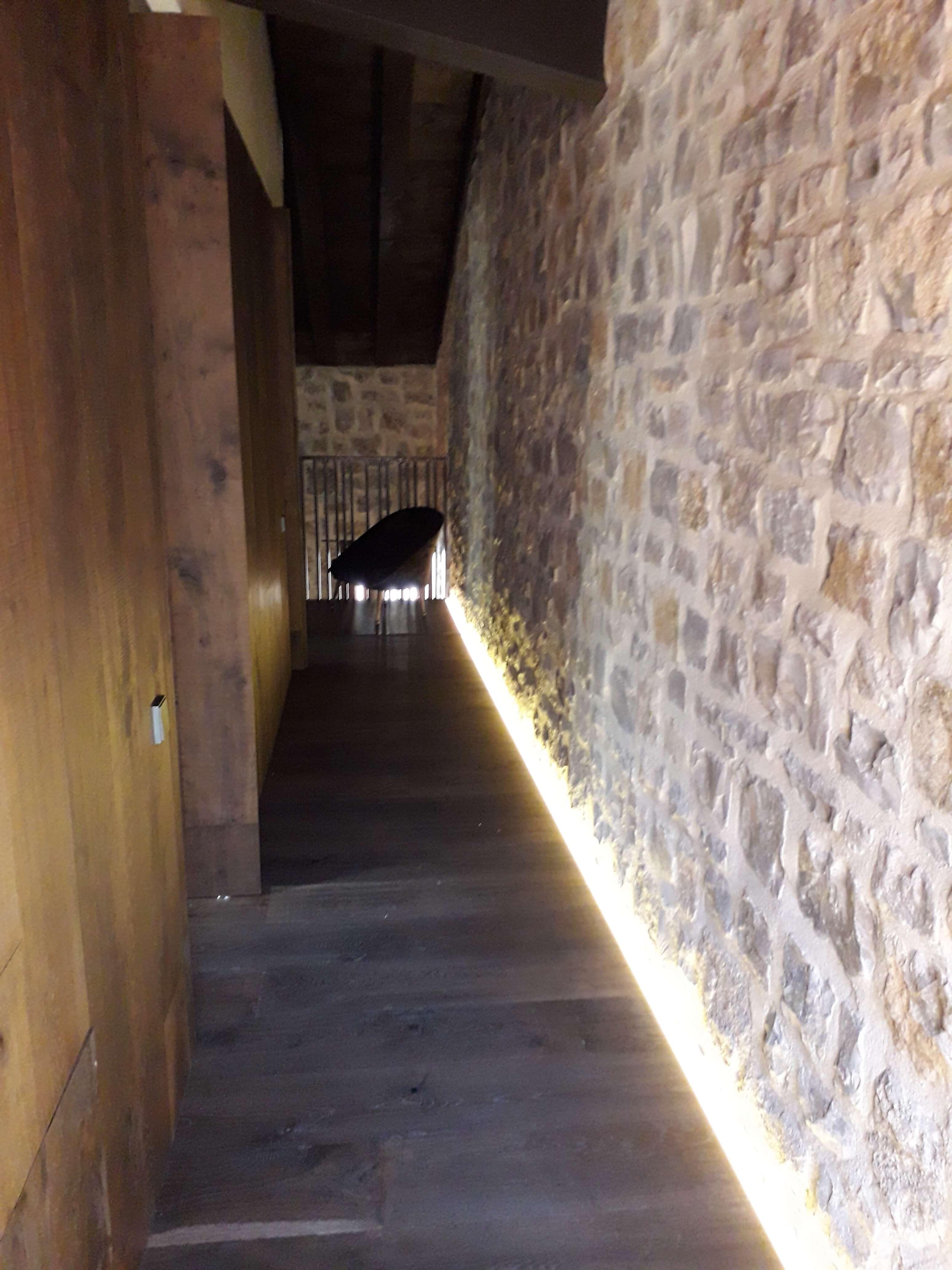 Iluminación Interiror pasillo