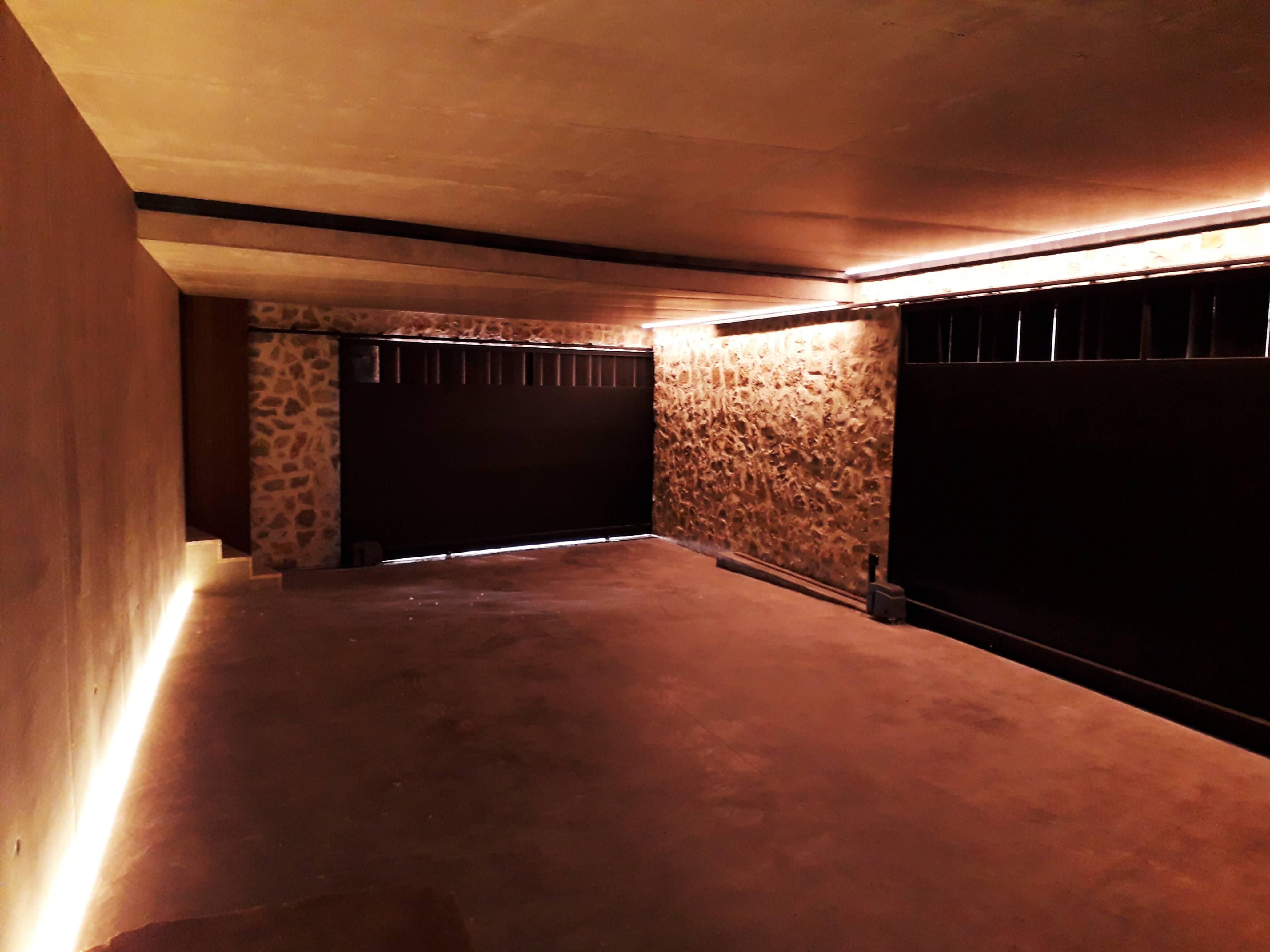 Instalacion Iluminacion y Domotica Garaje - Inel