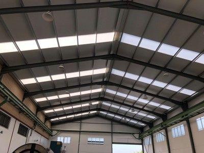 Iluminacion interior Nave Industrial