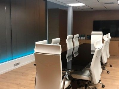 Instalación Domótica, Datos, CCTV e Iluminación Oficinas en Ontinyent