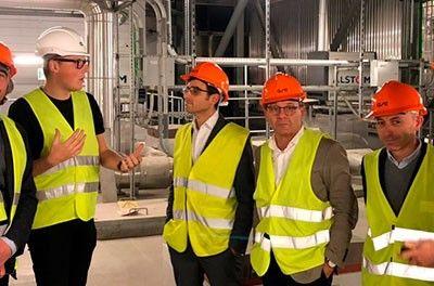 Inel visita junto innovall a industrias de Dinamarca y Suecia