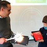Visita de Inel al colegio y explicación de un futuro sostenible