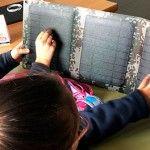 Visita de Inel, los alumnos aprenden sobre las placas