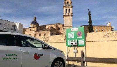 Instalación Punto Recarga Vehículo eléctrico Ontinyent