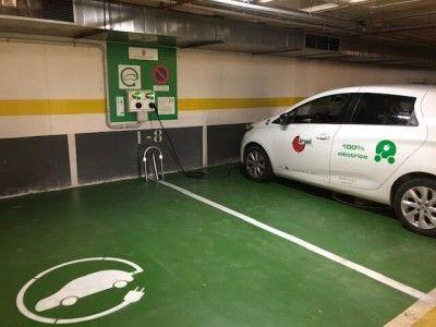 Instalacion Punto recarga vehículo eléctrico Gandia - Inel