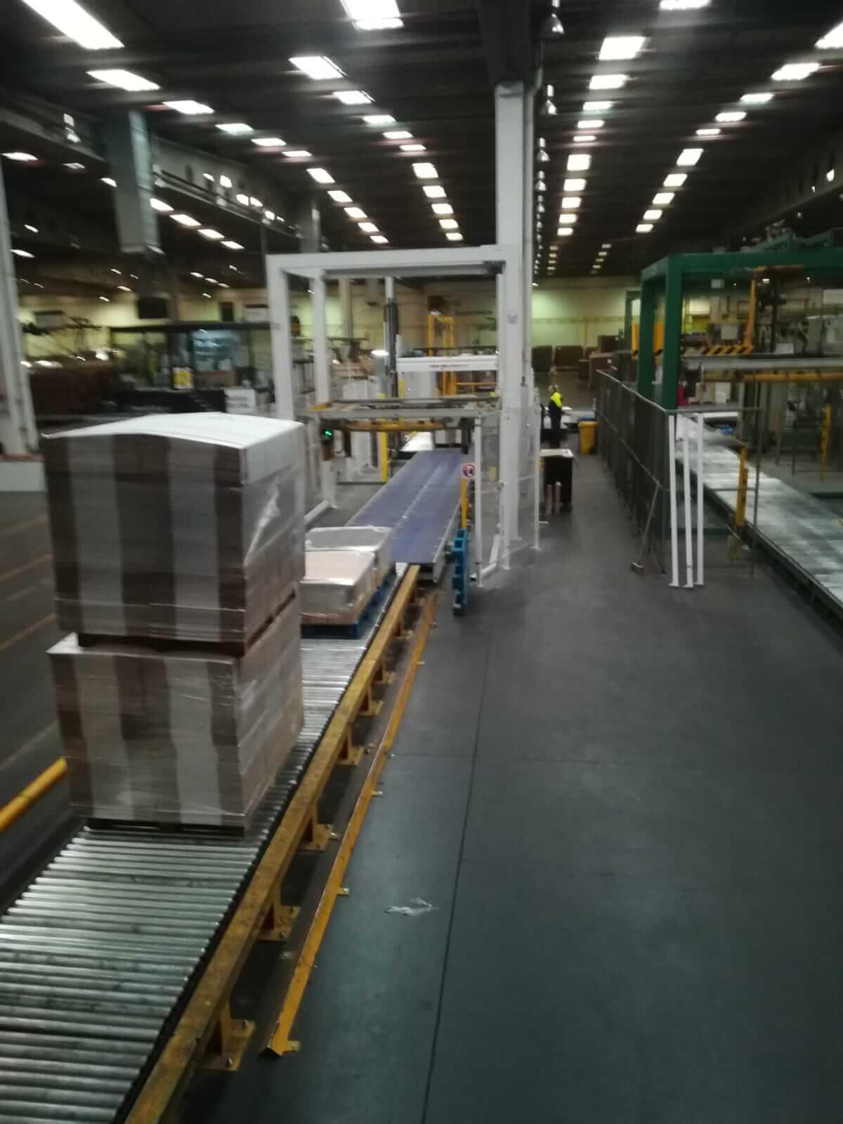 Puesta en marcha Lineas transporte carton - Inel