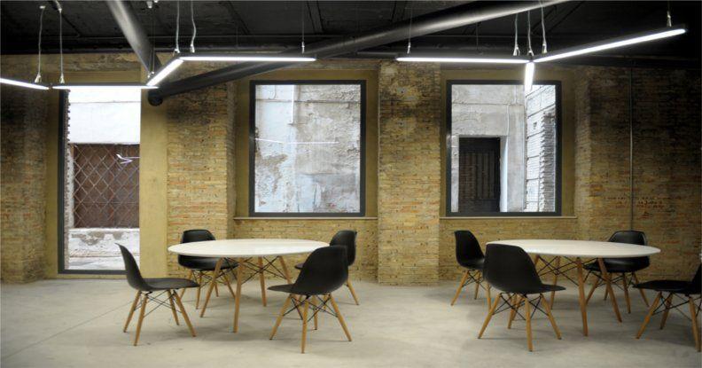 Instalación y Gestión de la iluminación interior y exterior Soterrani de les idees Ontinyent