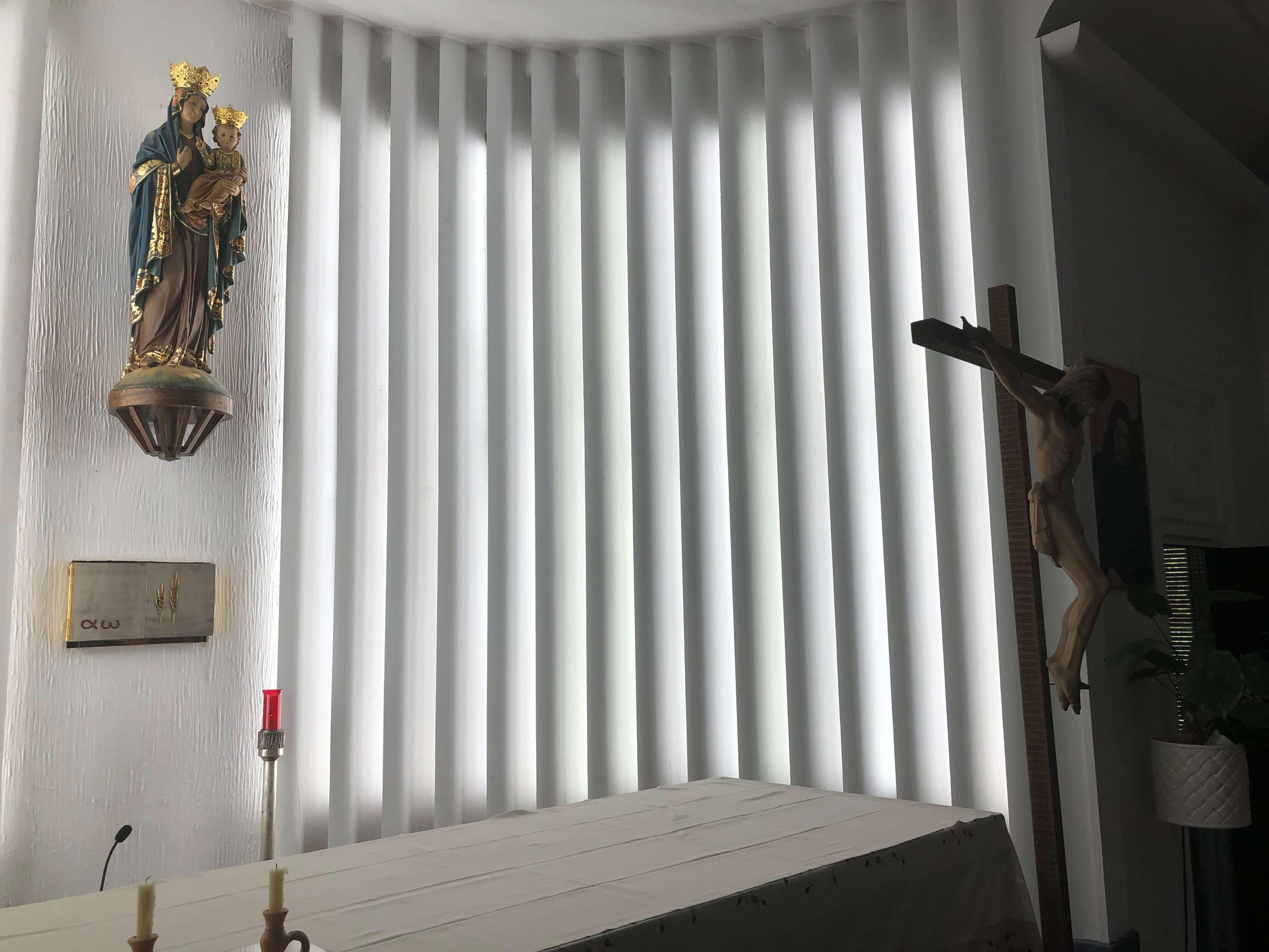 Instalación Iluminación capilla colegio Ontinyent Inel
