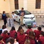 Inel explica jugando el gasto de combustible frente al vehículo eléctrico