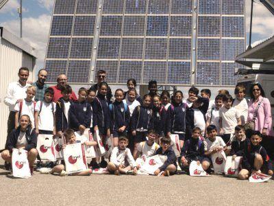 Alumnos colegio San José en Inel